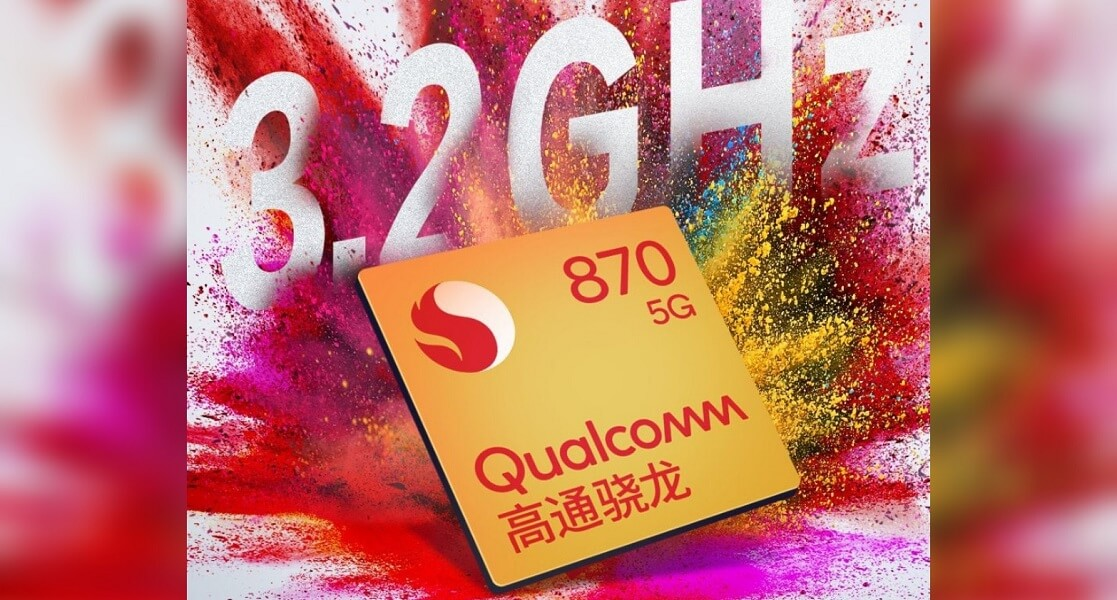 qualcomm snapdragon 870 5g processor