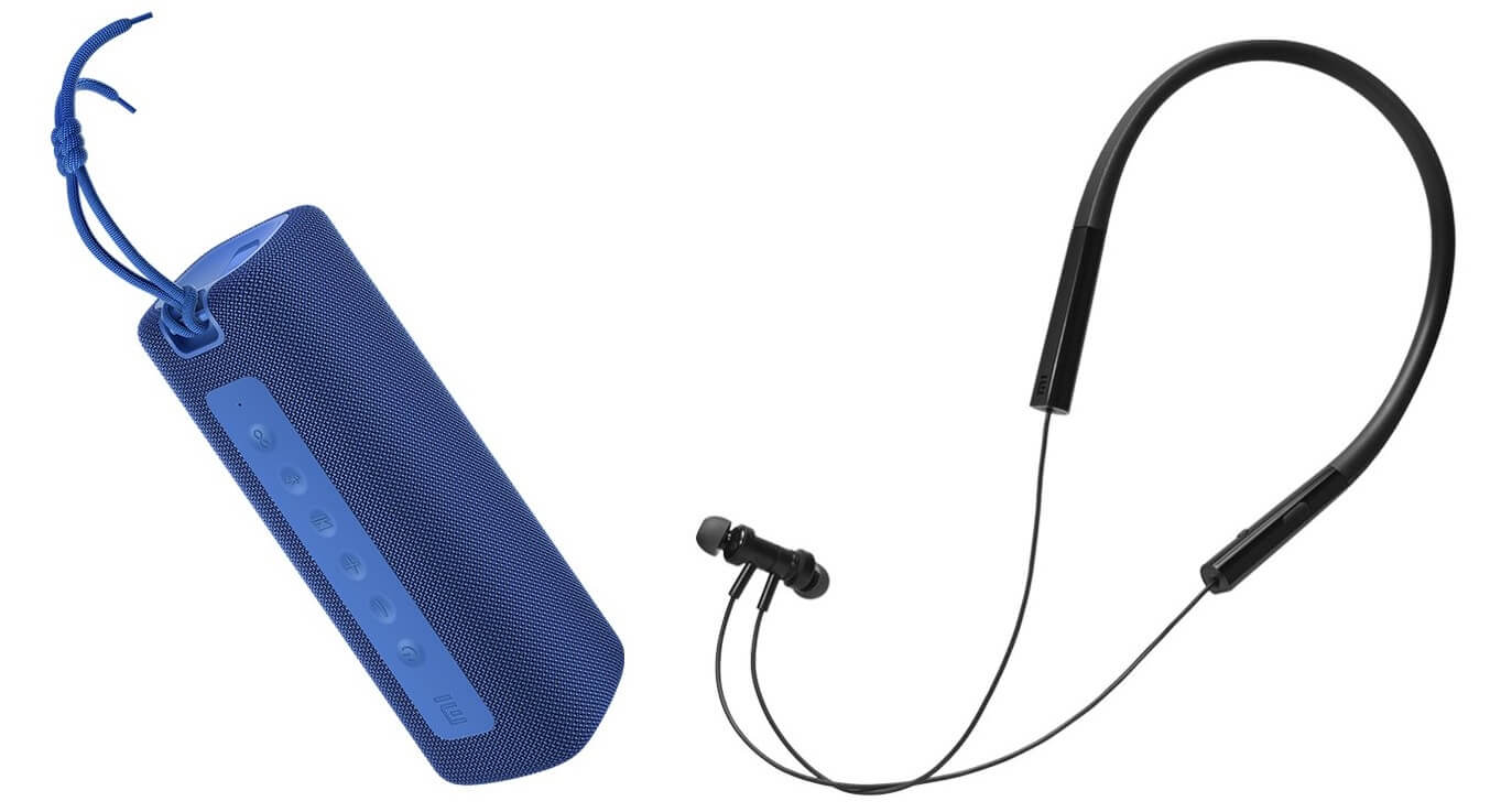 Mi Portable Bluetooth Speaker Neckband bluetooth earphones pro launch india