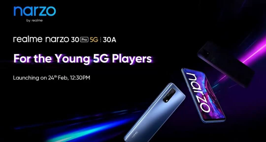 Realme 30 pro 5G 30A launch date india