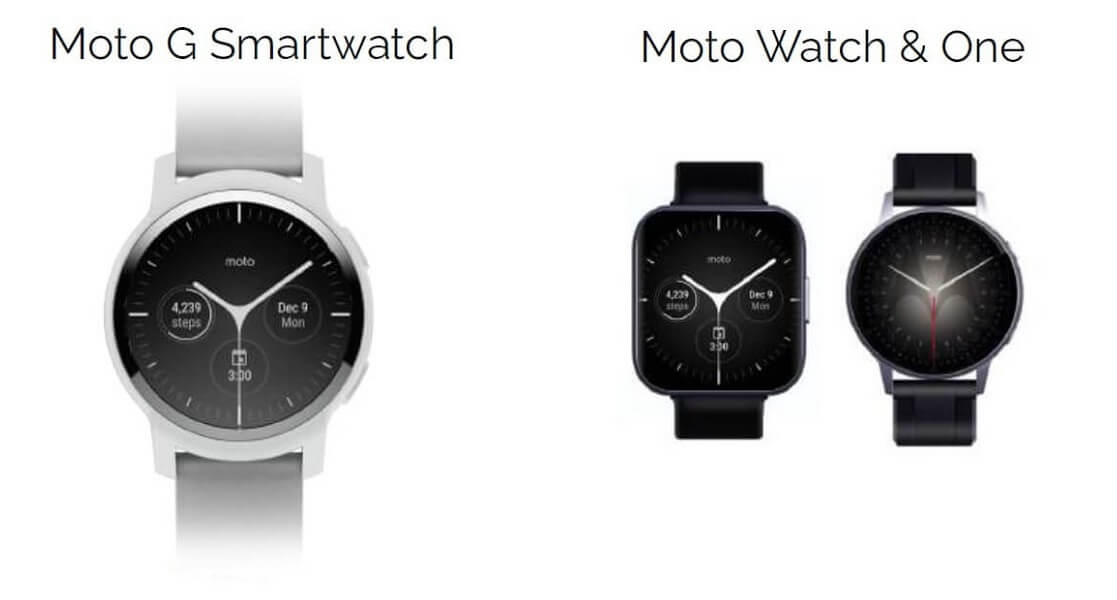 Moto G smartwatch Wear OS