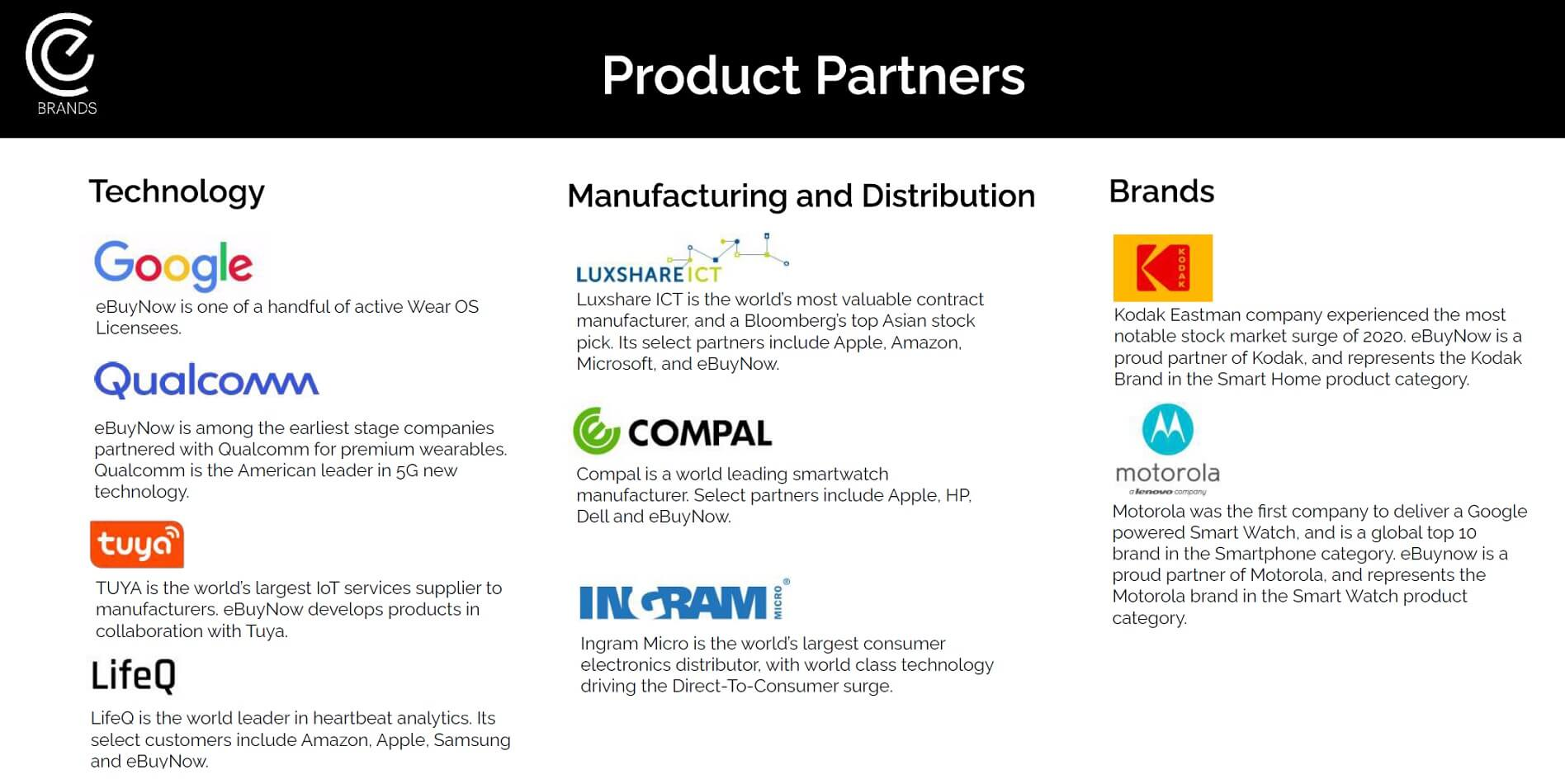 Motorola product partners