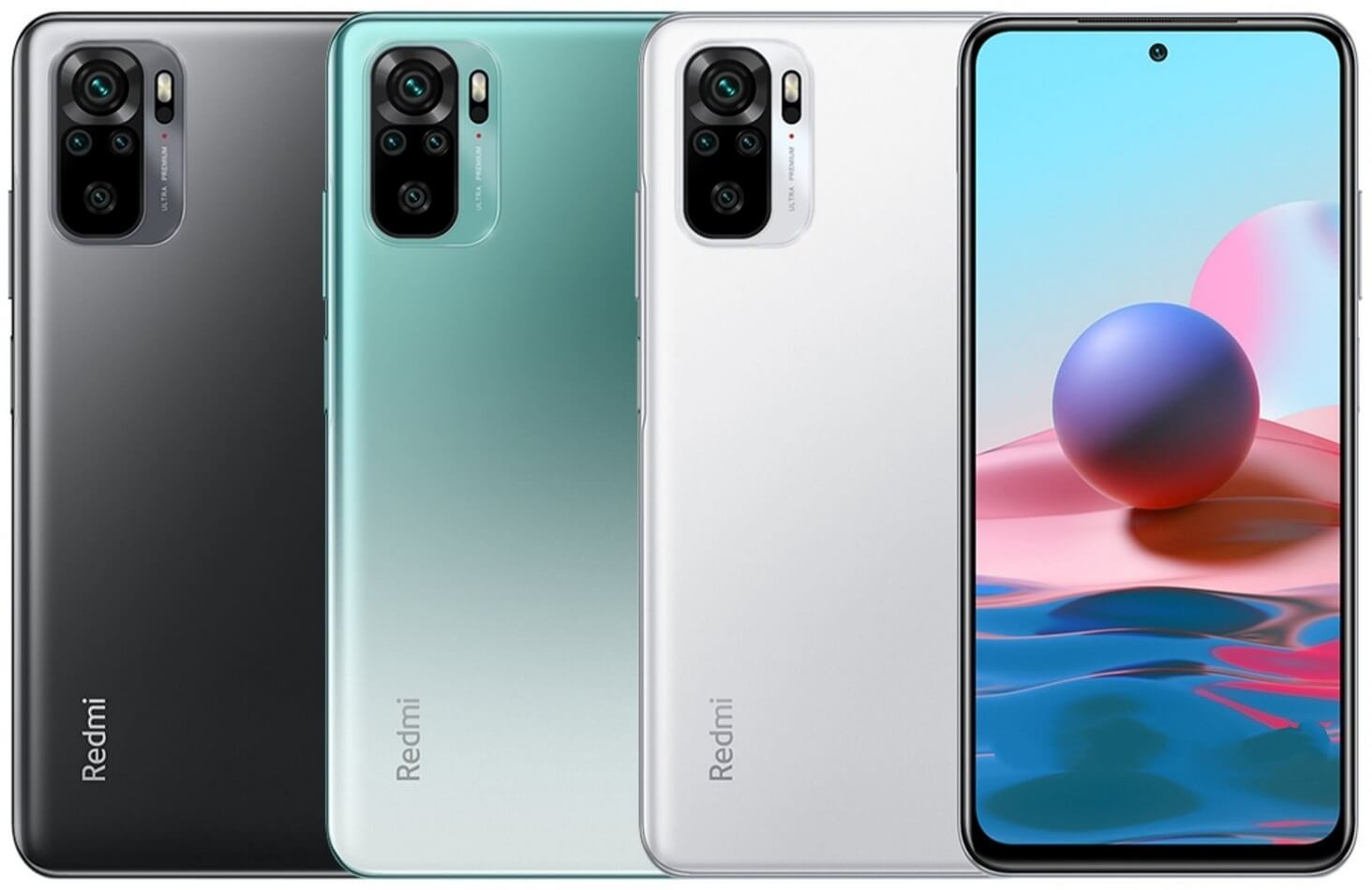 Redmi Note 10 colors