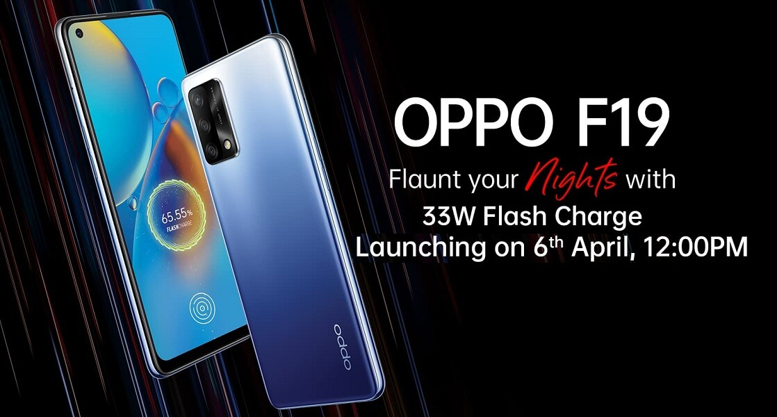 OPPO F19 launch date india