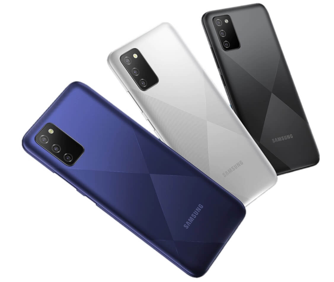 Samsung Galaxy F02s colors
