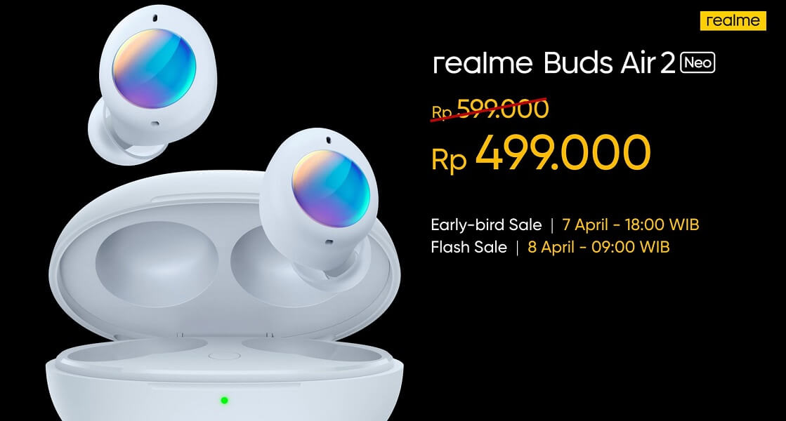 realme Buds Air 2 Neo launch